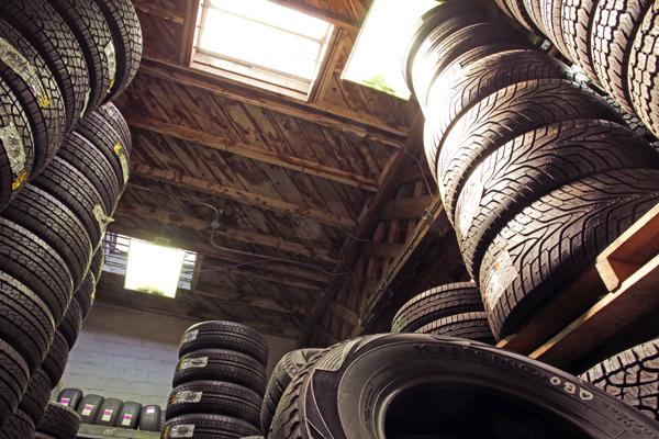 Choose used tyres