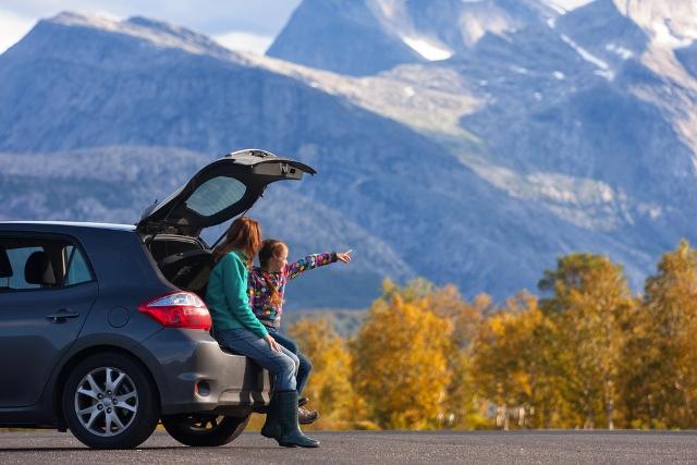 motorist planning a long journey