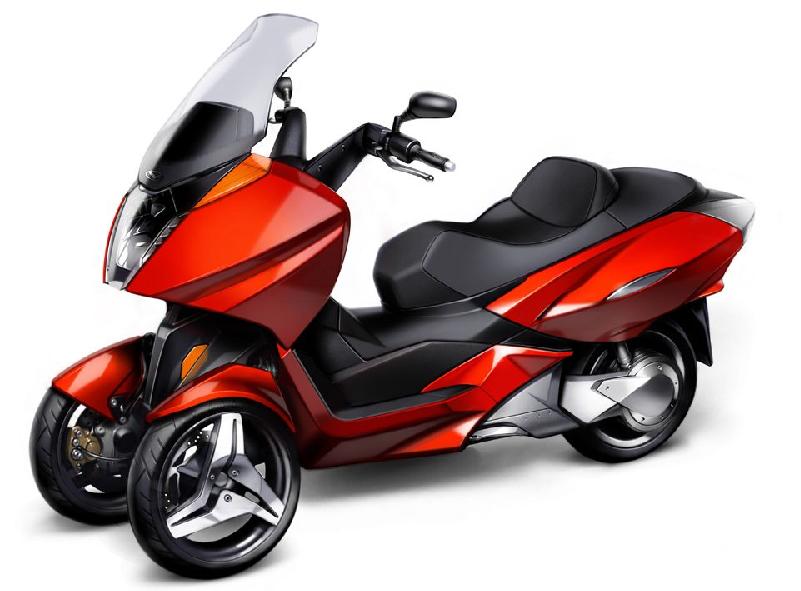 90 Three Wheeled Motor Scooter Mc D150tkb 150cc Three