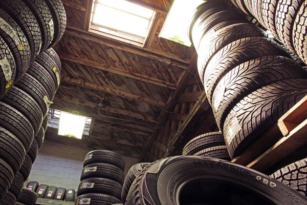 Choose used tyres